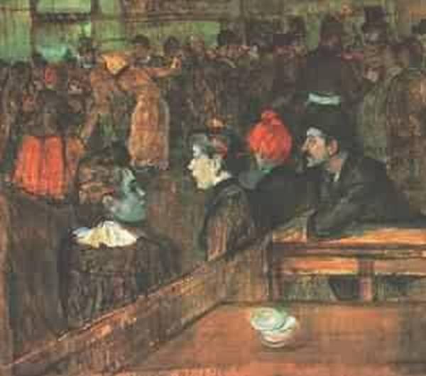 At the Moulin de la Galette 1889